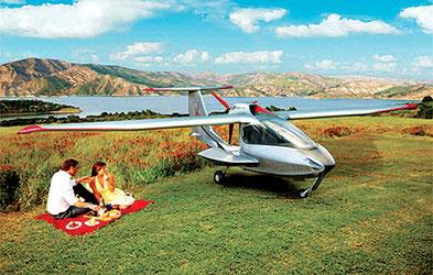 新一代 旅游折叠私人飞机