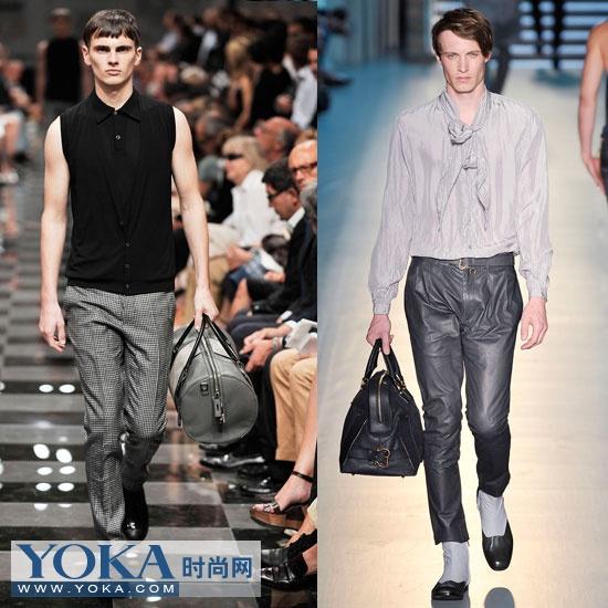 时尚 气派/PRADA(左) Zegna(右)