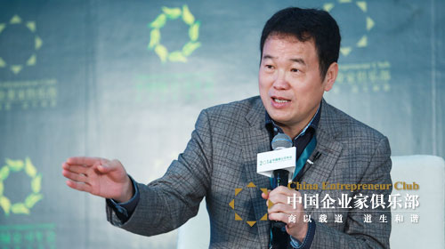 黄怒波:中国变成经济动物