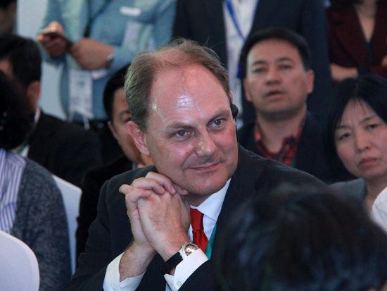 联合利华北亚区总裁Marijn van Tiggelen
