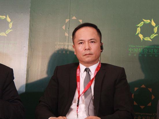 中国银泰投资有限公司董事长沈国军